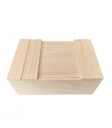 Box na semínka a pomůcky - dřevěný - 1 ks